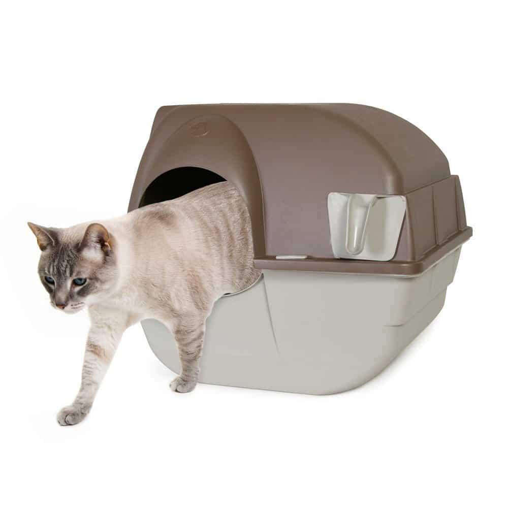 Litière autonettoyante pour chat