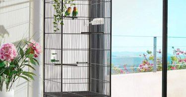 cage à oiseau sur pieds